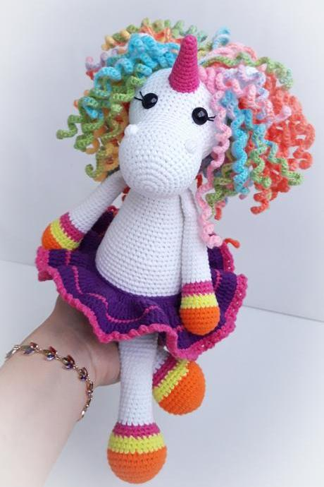 Magic rainbow unicorn toy for girl, Christmas gift,stuffed magic horse doll,unicorn doll,gift for girl,birthday gift,unicorn gift idea